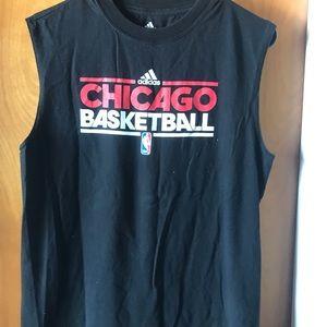 Adidas Chicago Bulls Sleeveless Top M